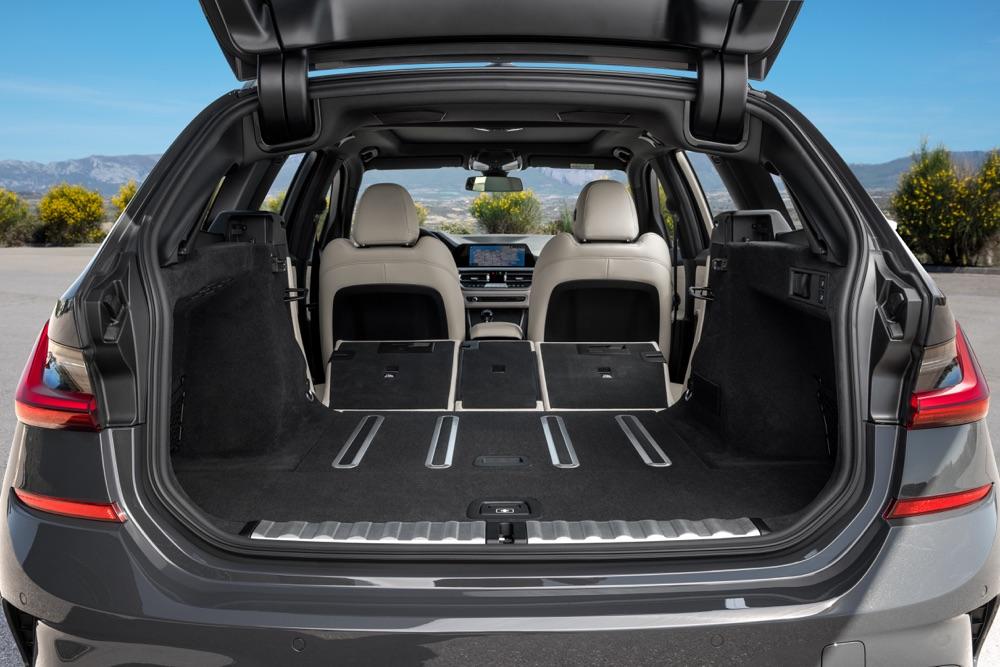 Bagagliaio di Nuova BMW Serie 3 Touring