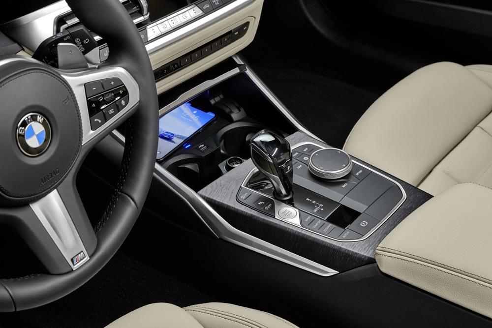 Cambio automatico su Nuova BMW Serie 3 Touring