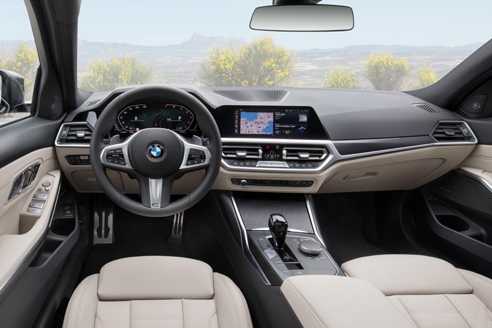 Infotainment di Nuova BMW Serie 3 Touring