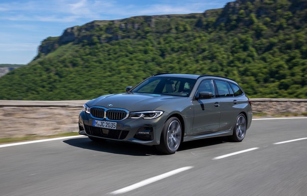 Motori di Nuova BMW Serie 3 Touring