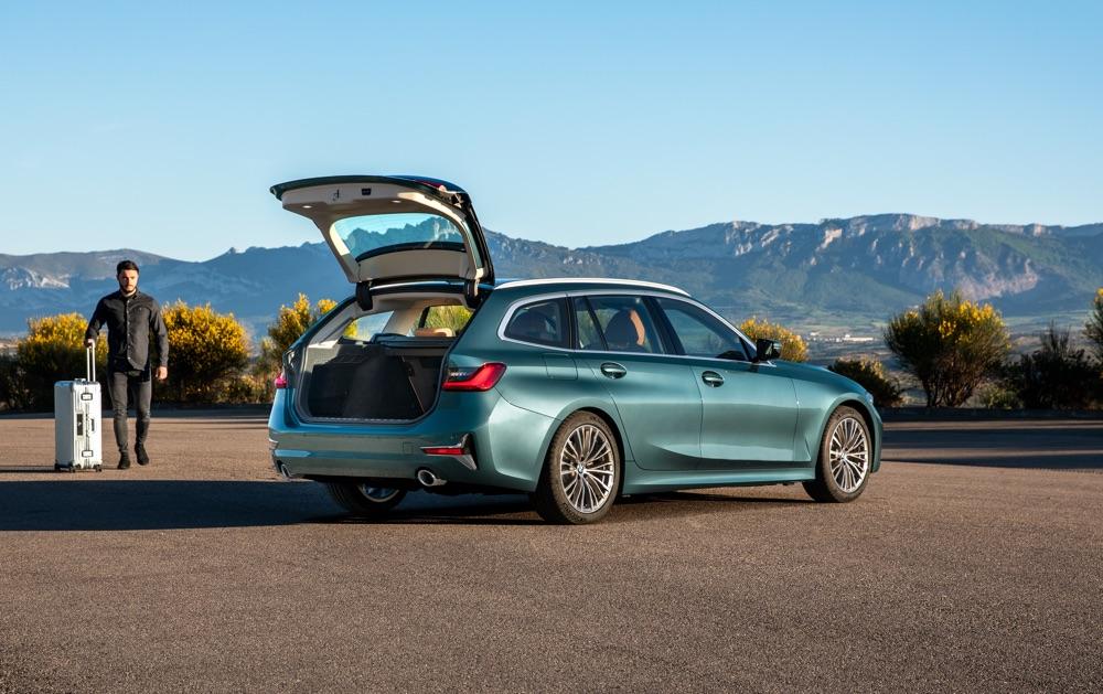 Portellone di Nuova BMW Serie 3 Touring