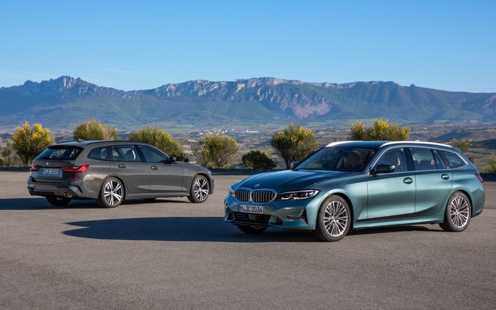 Uscita di Nuova BMW Serie 3 Touring