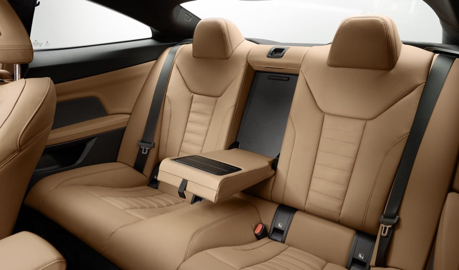 Sedili posteriori di BMW Serie 4