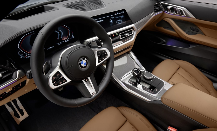 Strumentazione di BMW Serie 4