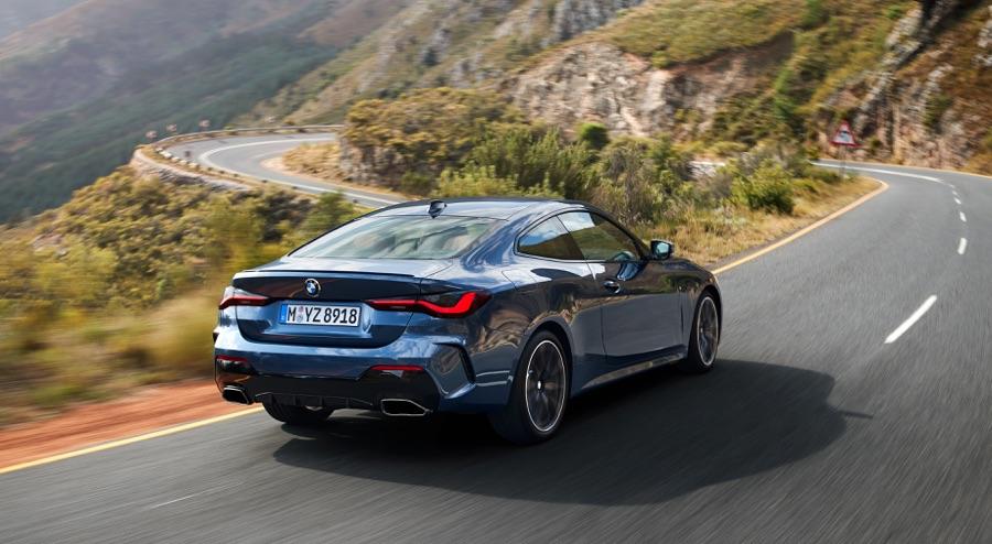 Trazione xDrive di BMW Serie 4