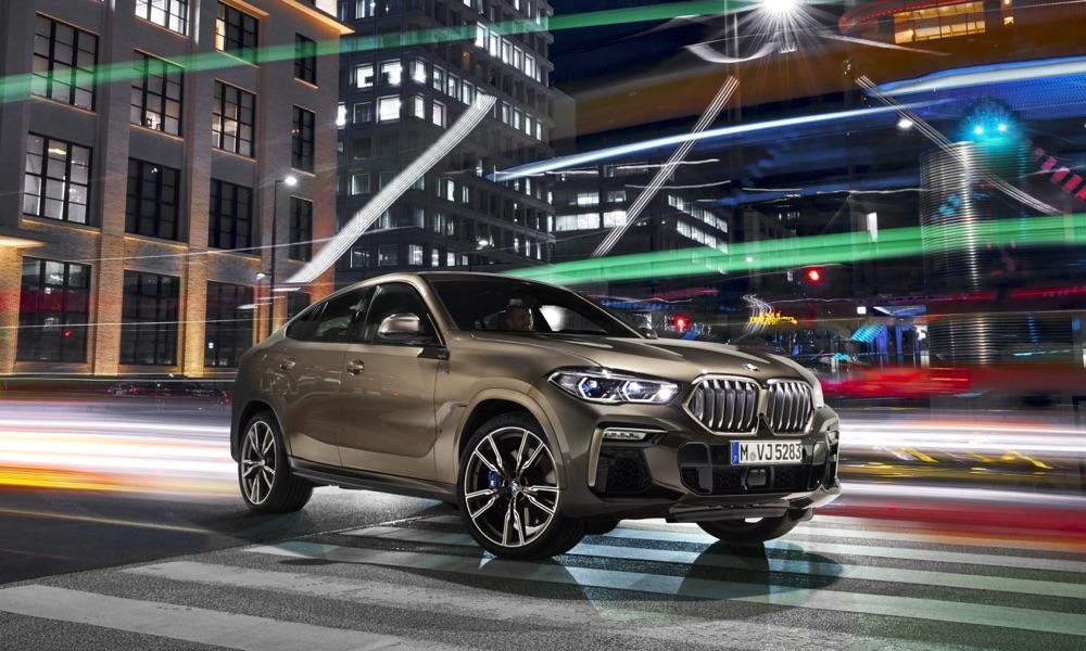 Caratteristiche di Nuova BMW X6 2019