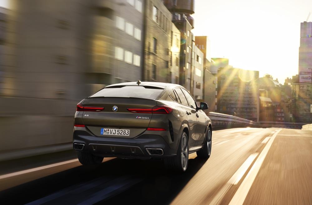 Consumi di nuova BMW X6 2019
