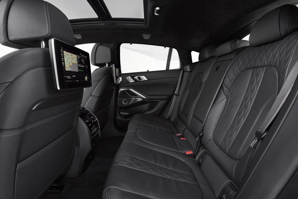 Sedili posteriori di Nuova BMW X6 2019