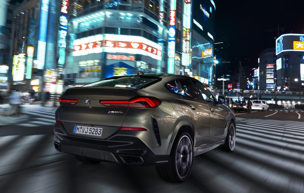 Versioni di Nuova BMW X6 2019