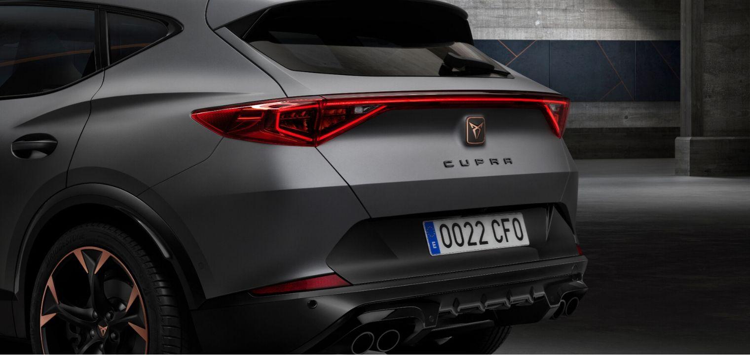 Nuova Cupra Formentor Suv 2020 posteriore