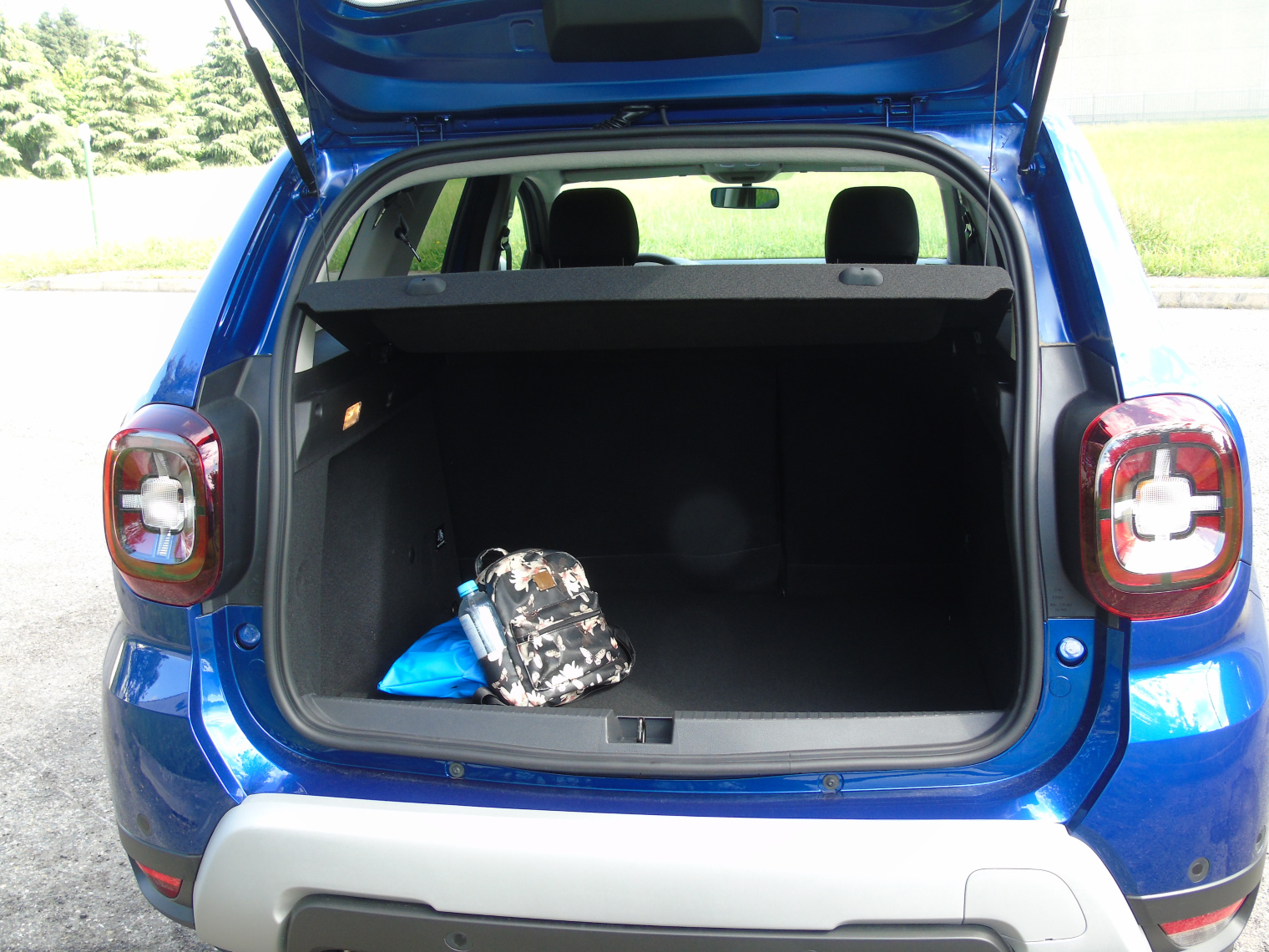 Bagagliaio nuova Dacia Duster GPL