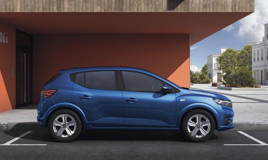 Dimensioni di Nuova Dacia Sandero