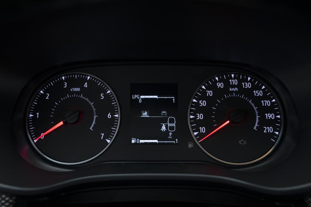 Strumentazione di Nuova Dacia Sandero