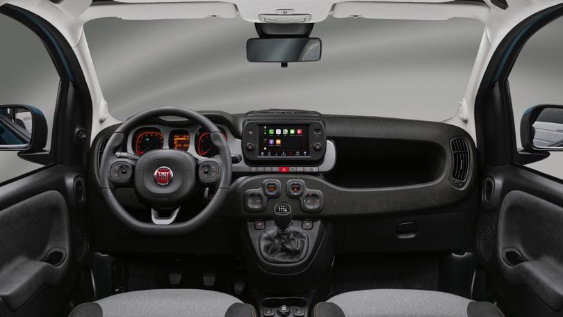 Interni di Fiat Panda 2020