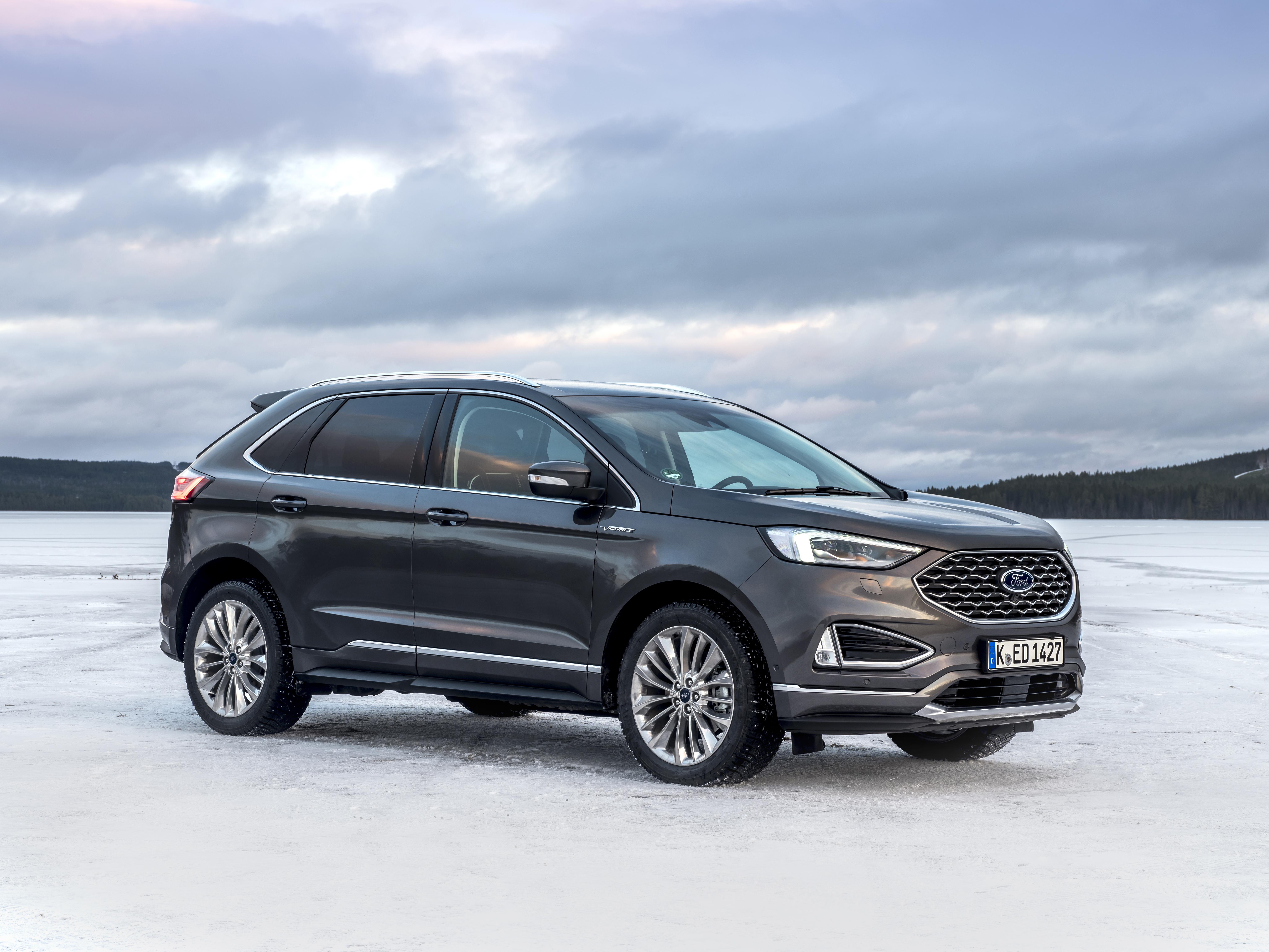 Adas nuova Ford Edge 2019