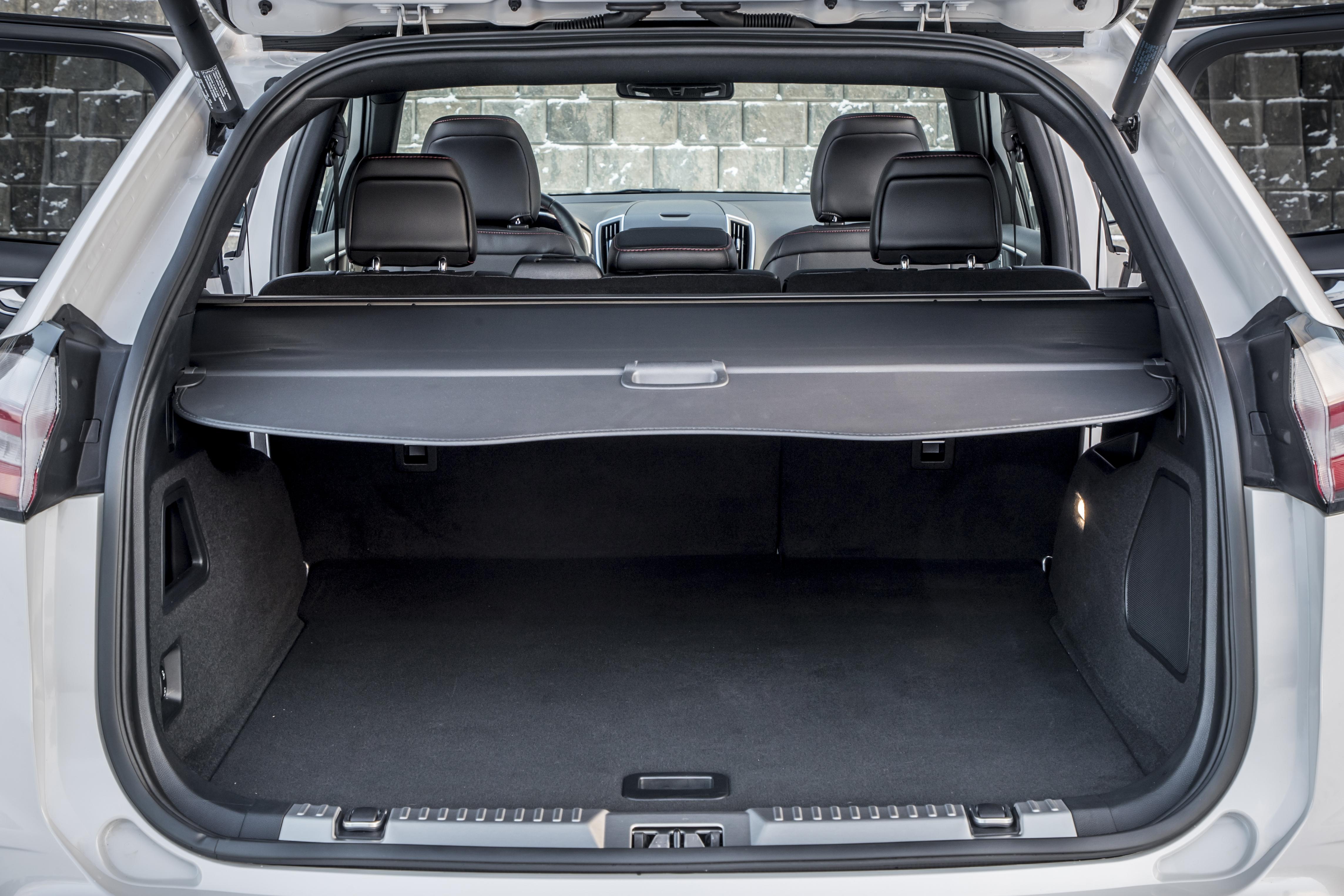 Bagagliaio nuova Ford Edge 2019