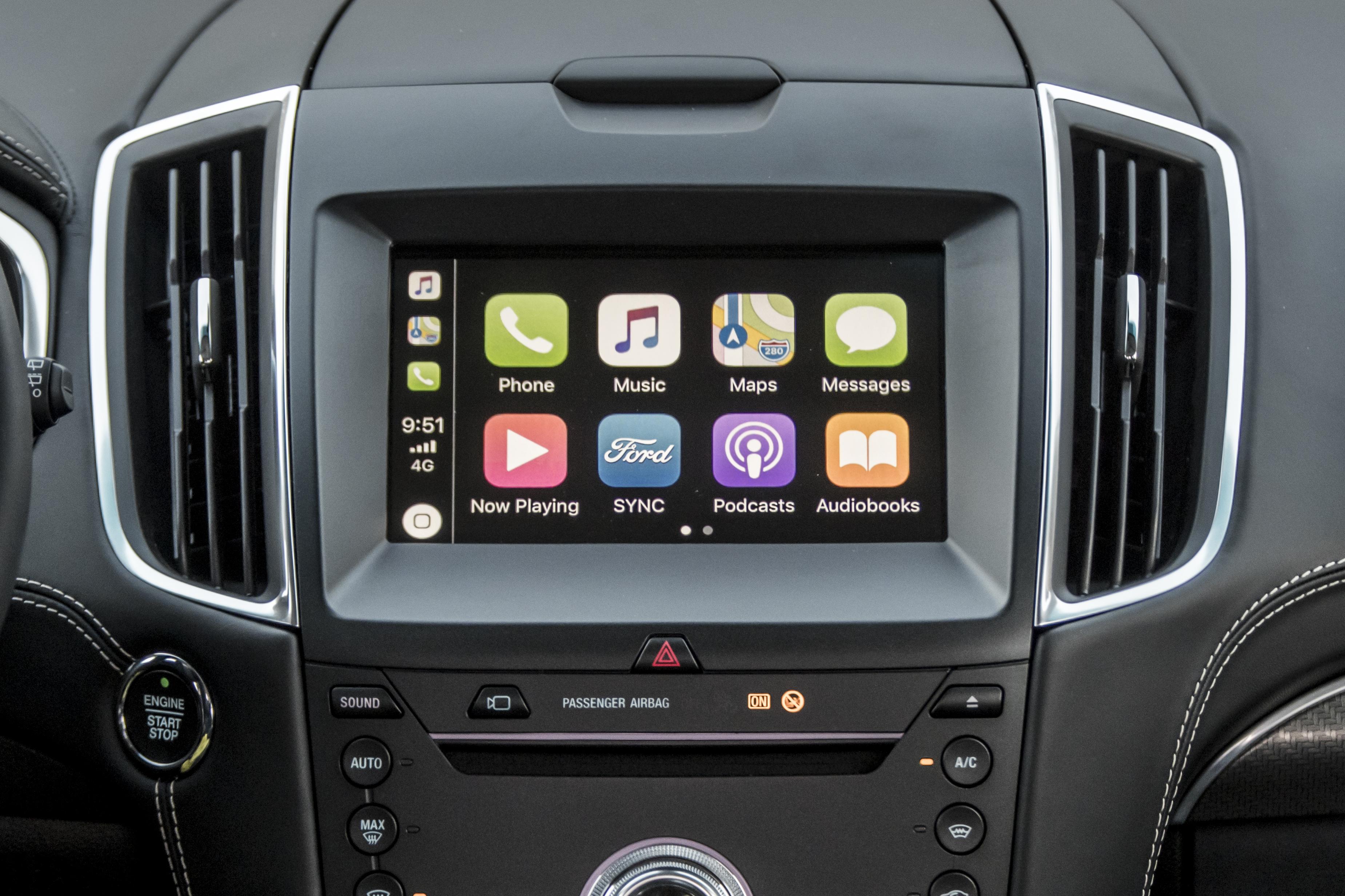 Tecnologia nuova Ford Edge 2019