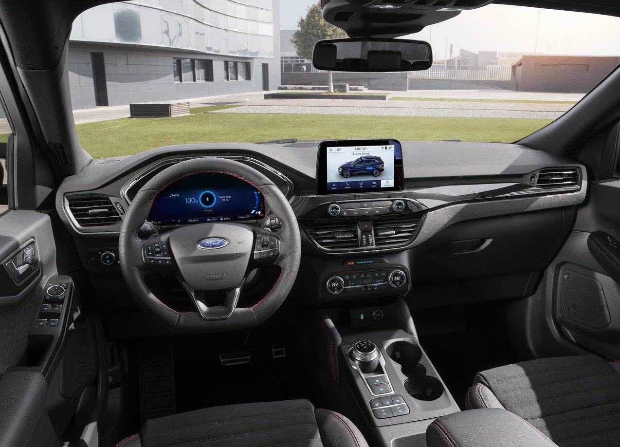 Interni di Nuova Ford Kuga