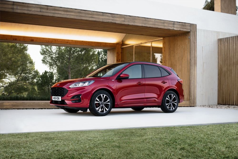 Motori di Nuova Ford Kuga