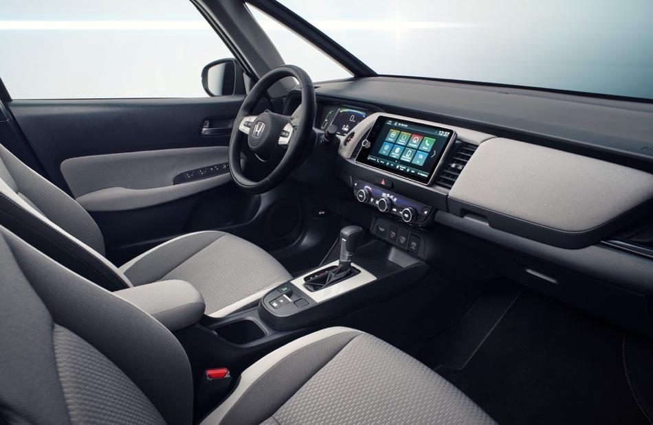 Caratteristiche di Nuova Honda Jazz ibrida
