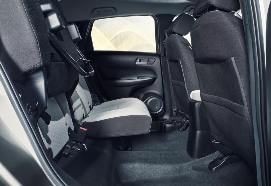 Magic Seats di Nuova Honda Jazz ibrida