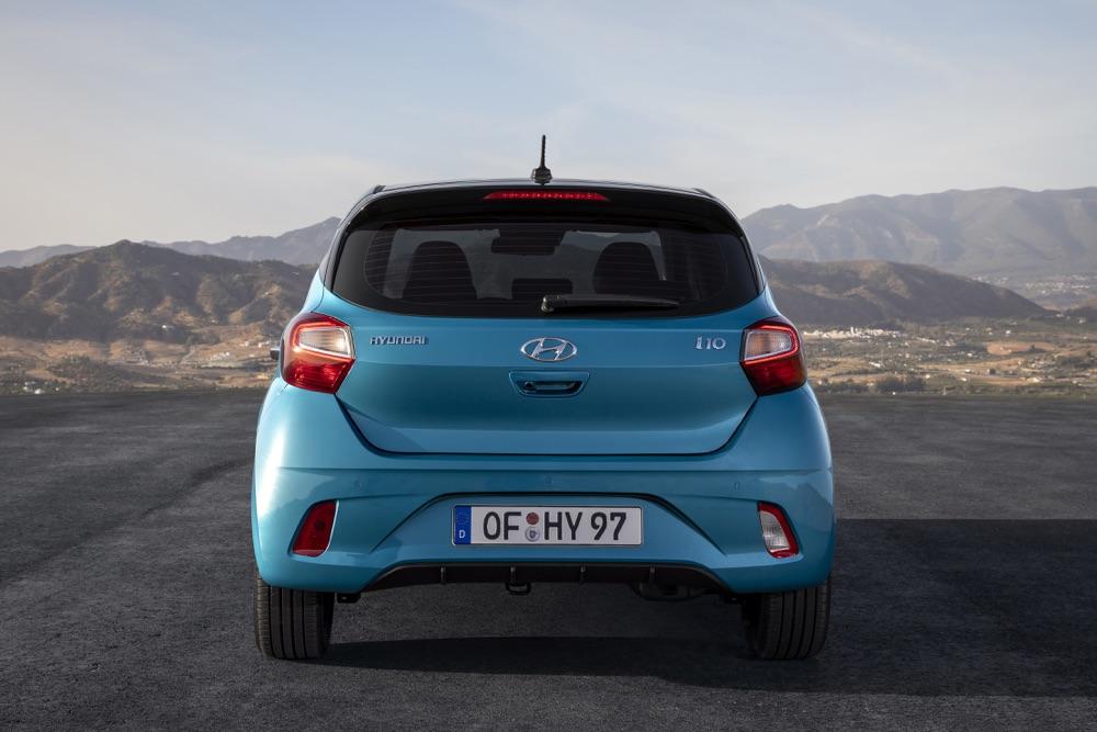 Bagagliaio di Nuova Hyundai i10