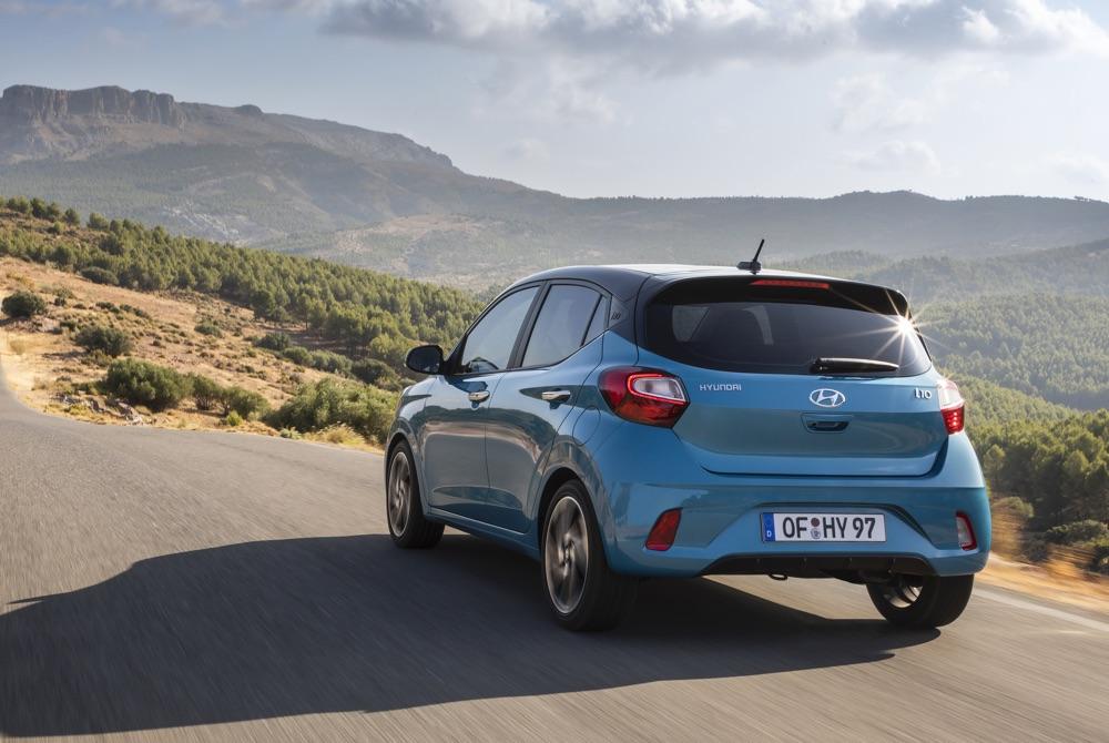 BlueLink su Nuova Hyundai i10