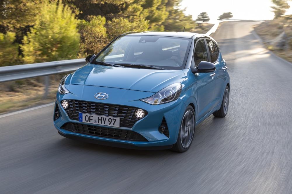 Motori di Nuova Hyundai i10