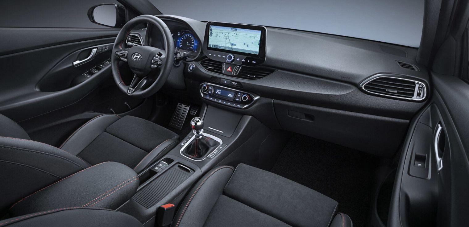 Nuova Hyundai i30 2020 abitacolo