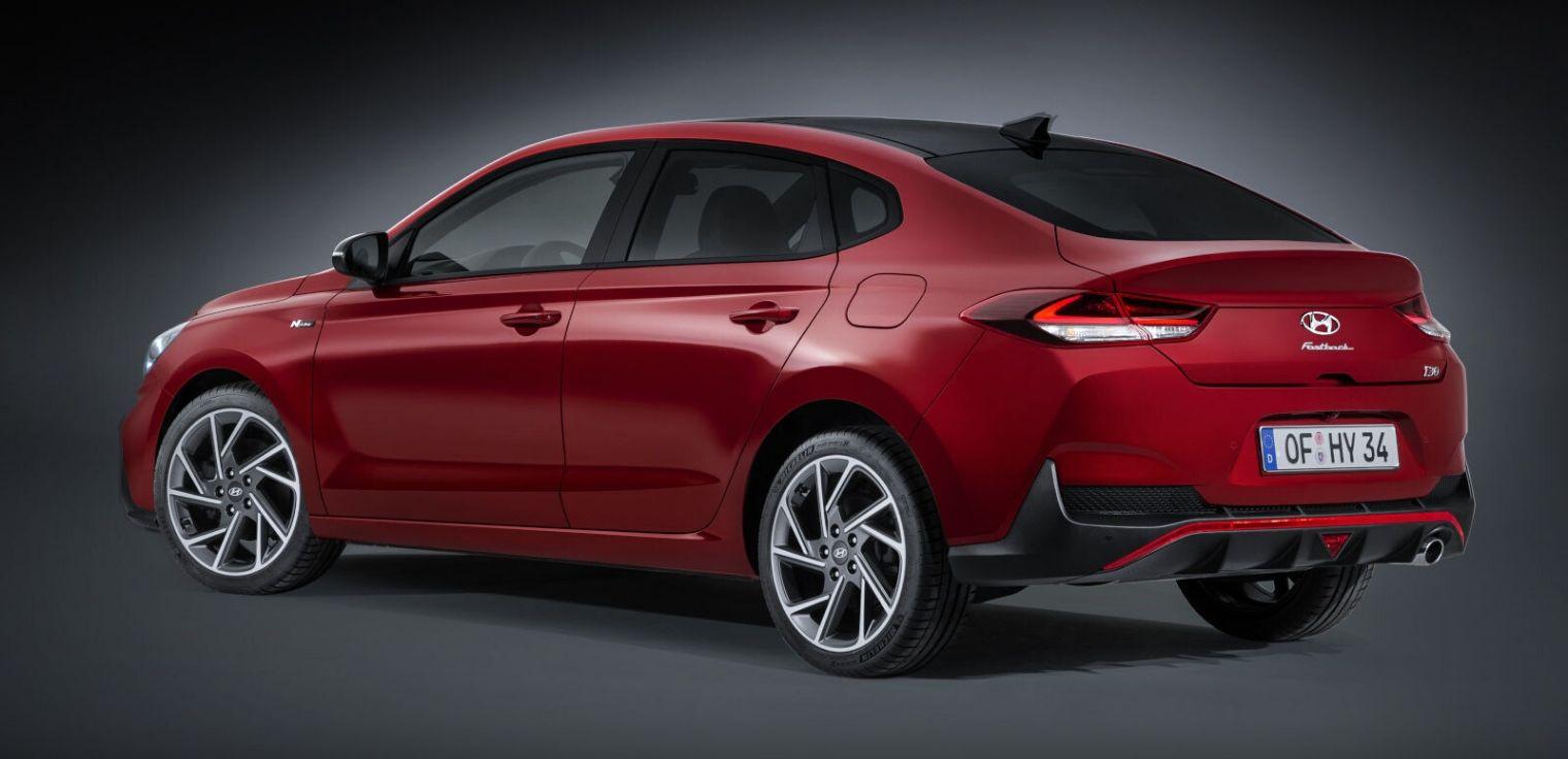 Nuova Hyundai i30 Fastback restyling 2020