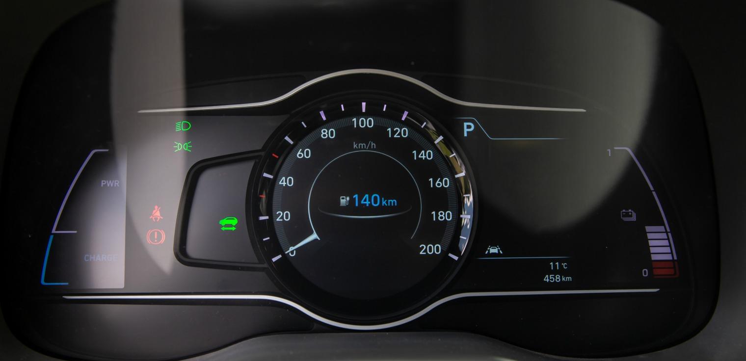 Autonomia nuova Hyundai Kona Electric