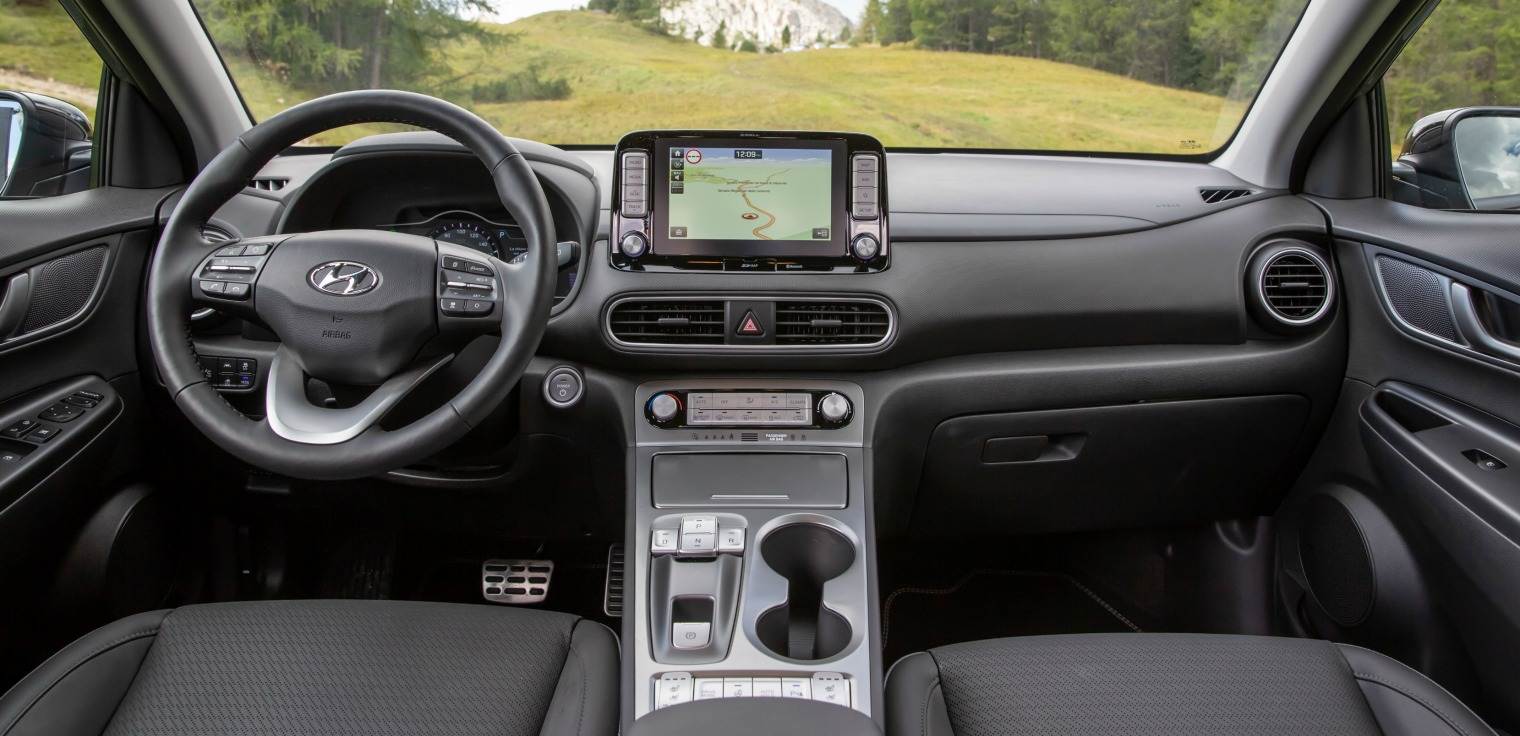 Interni nuova Hyundai Kona Electric