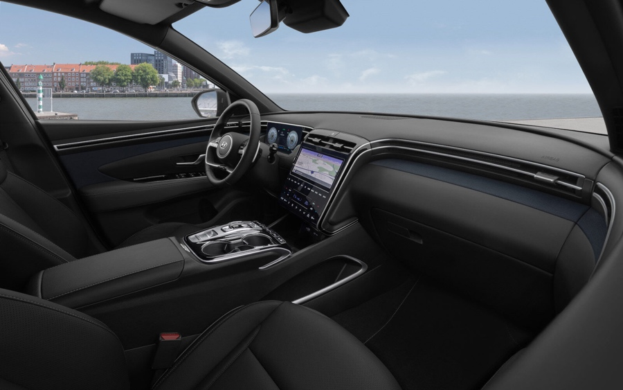 Abitacolo di nuova Hyundai Tucson