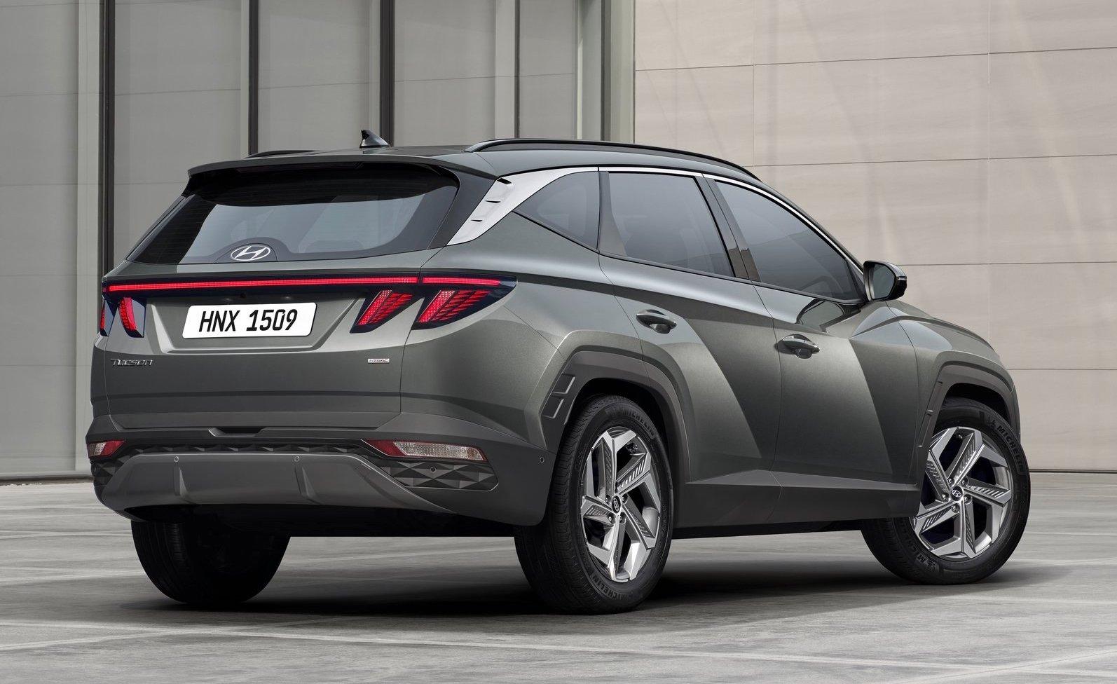 Bagagliaio di nuova Hyundai Tucson