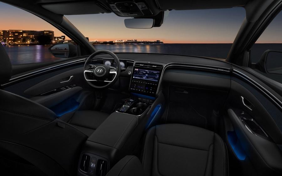 Infotainment di nuova Hyundai Tucson