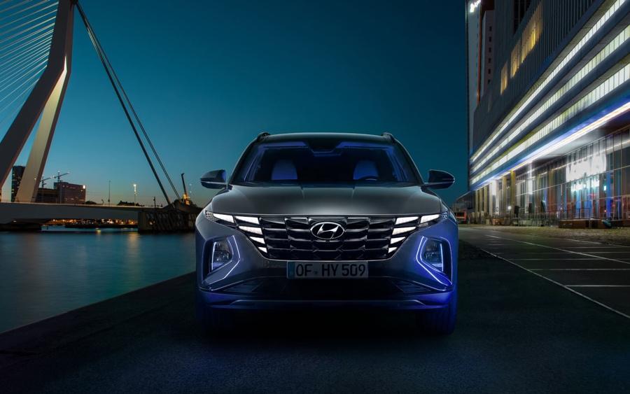 luci Parametric Hiddent Lights nuova Hyundai Tucson