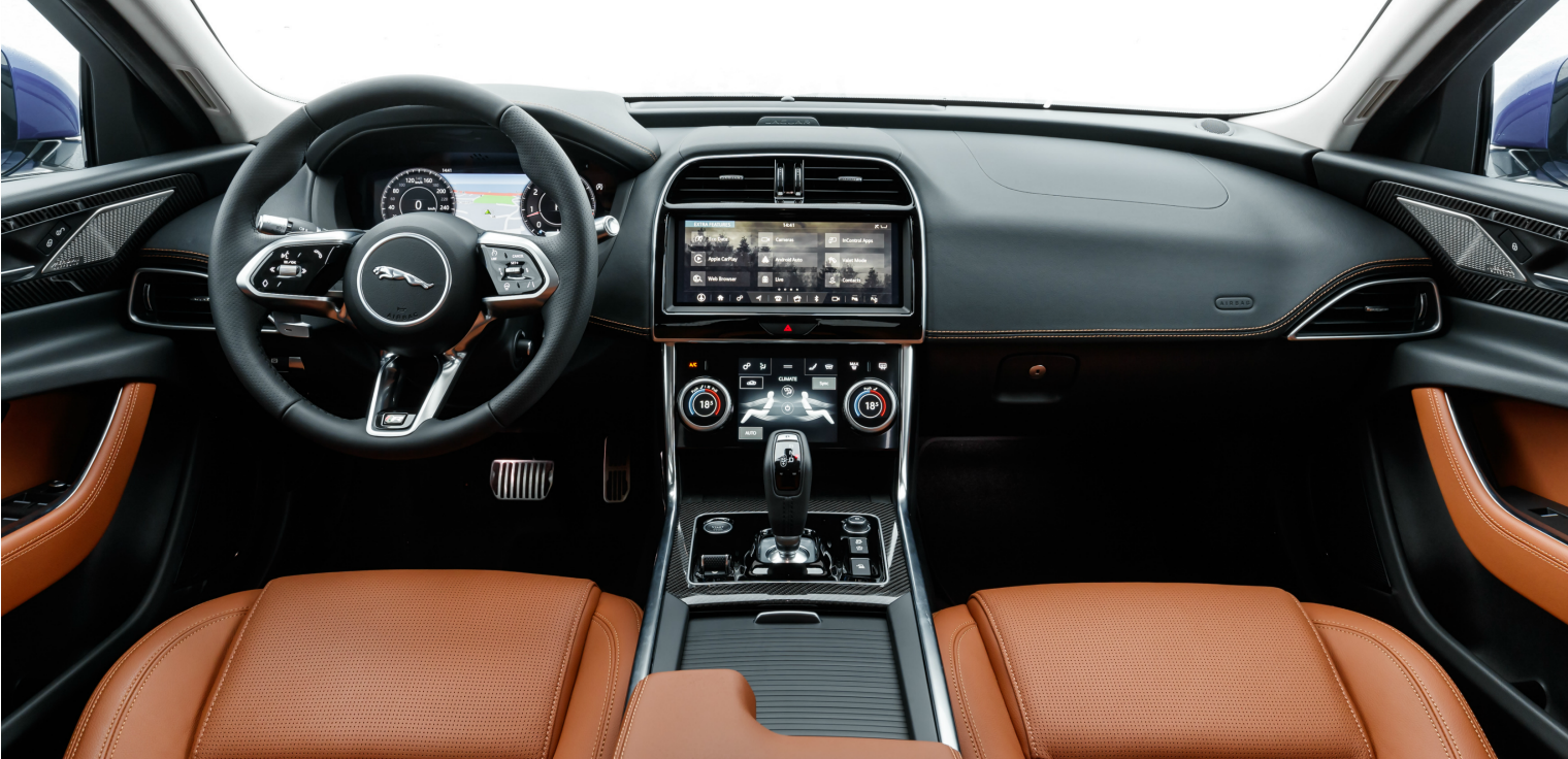 interni nuova Jaguar XE