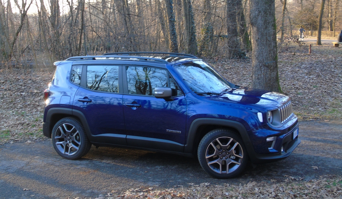Nuova Jeep Renegade design