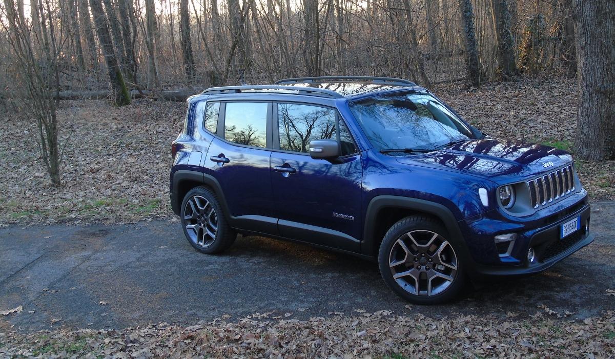 Nuova Jeep Renegade linee