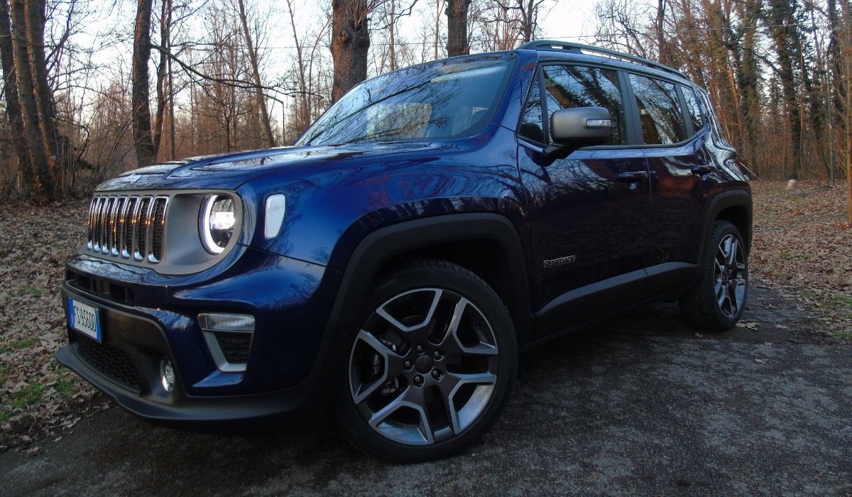 Nuova Jeep Renegade prova su strada