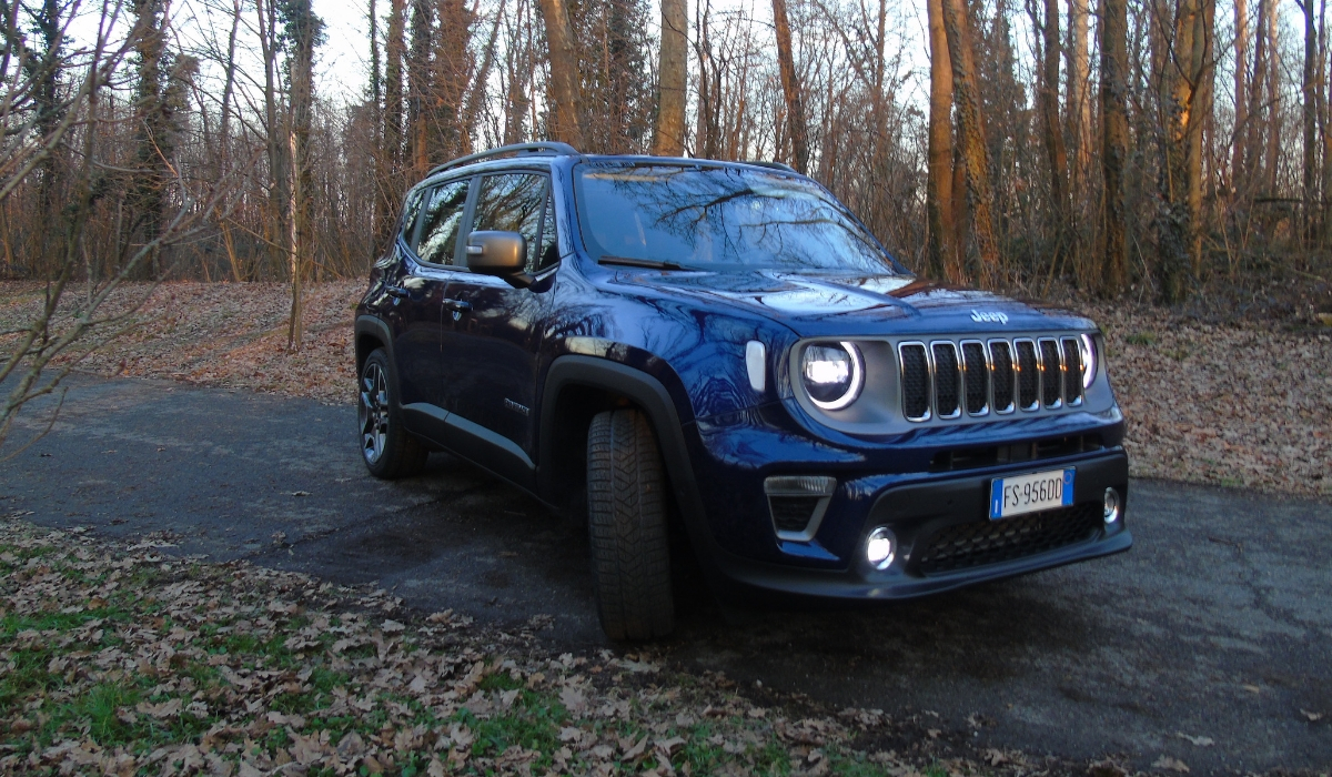 Nuova Jeep Renegade test drive