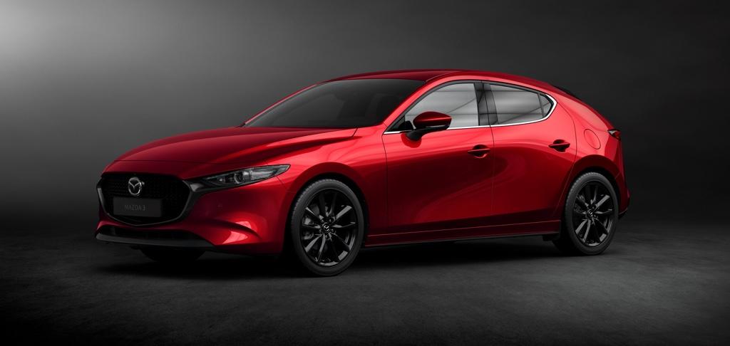 Dimensioni di nuova Mazda 3