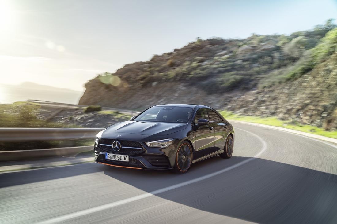 Dimensioni di nuova Mercedes CLA