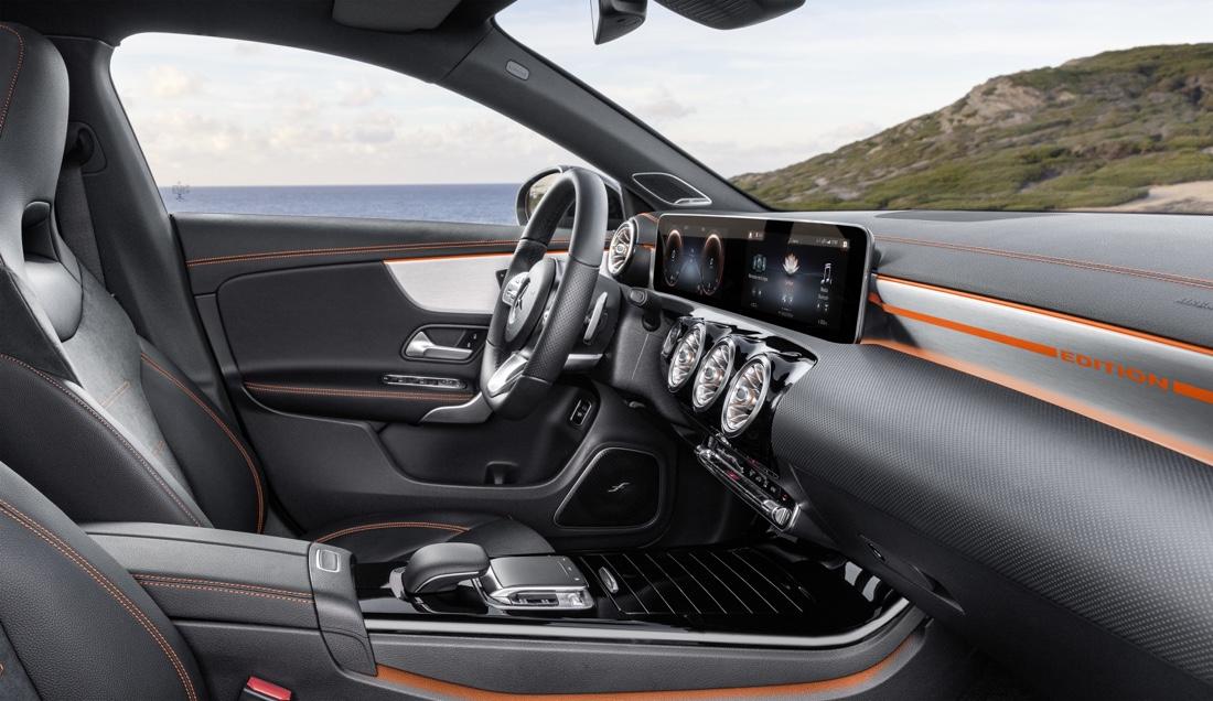 MBUX di Mercedes CLA 2019