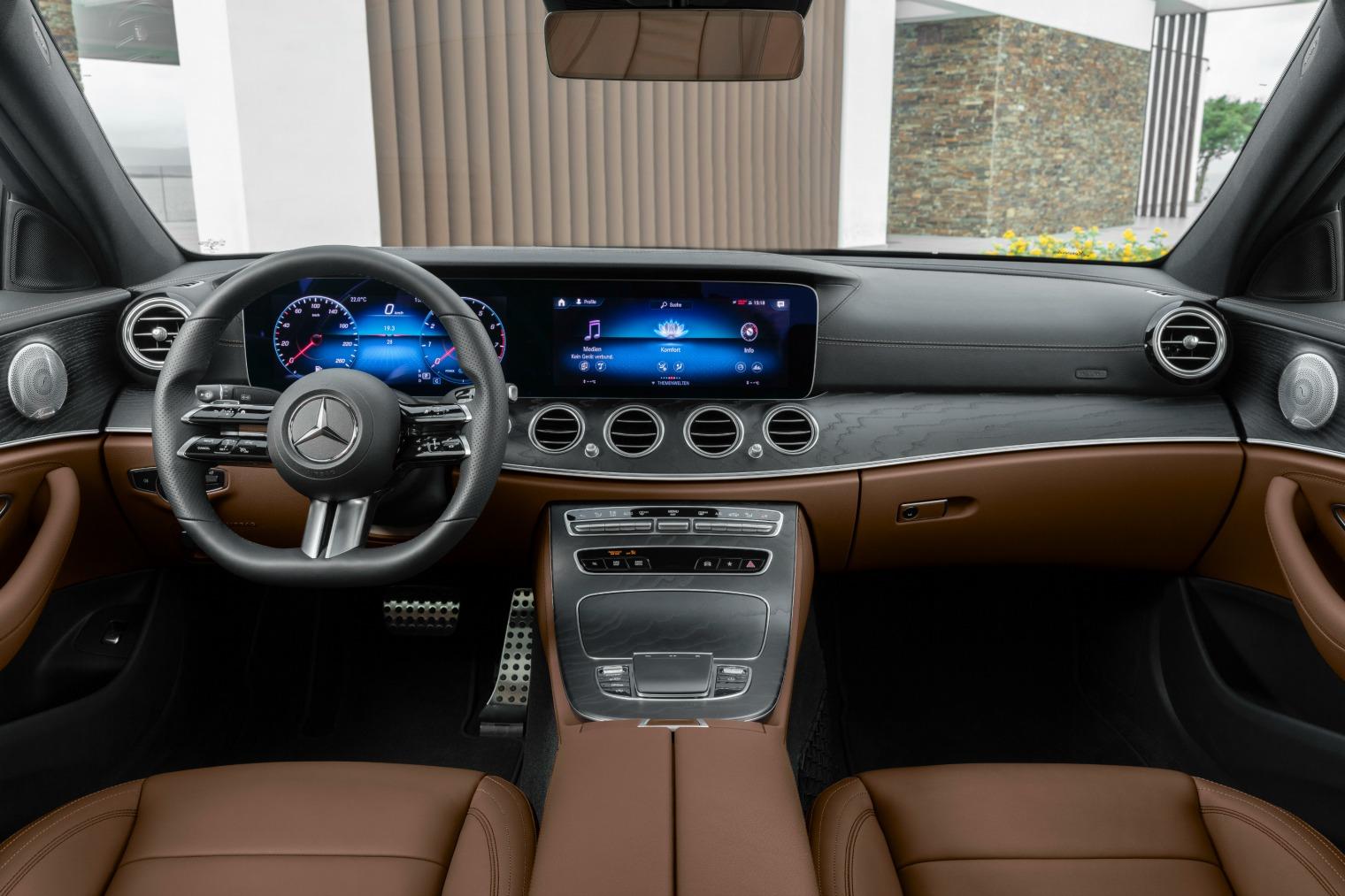 Interni nuova Mercedes Classe E