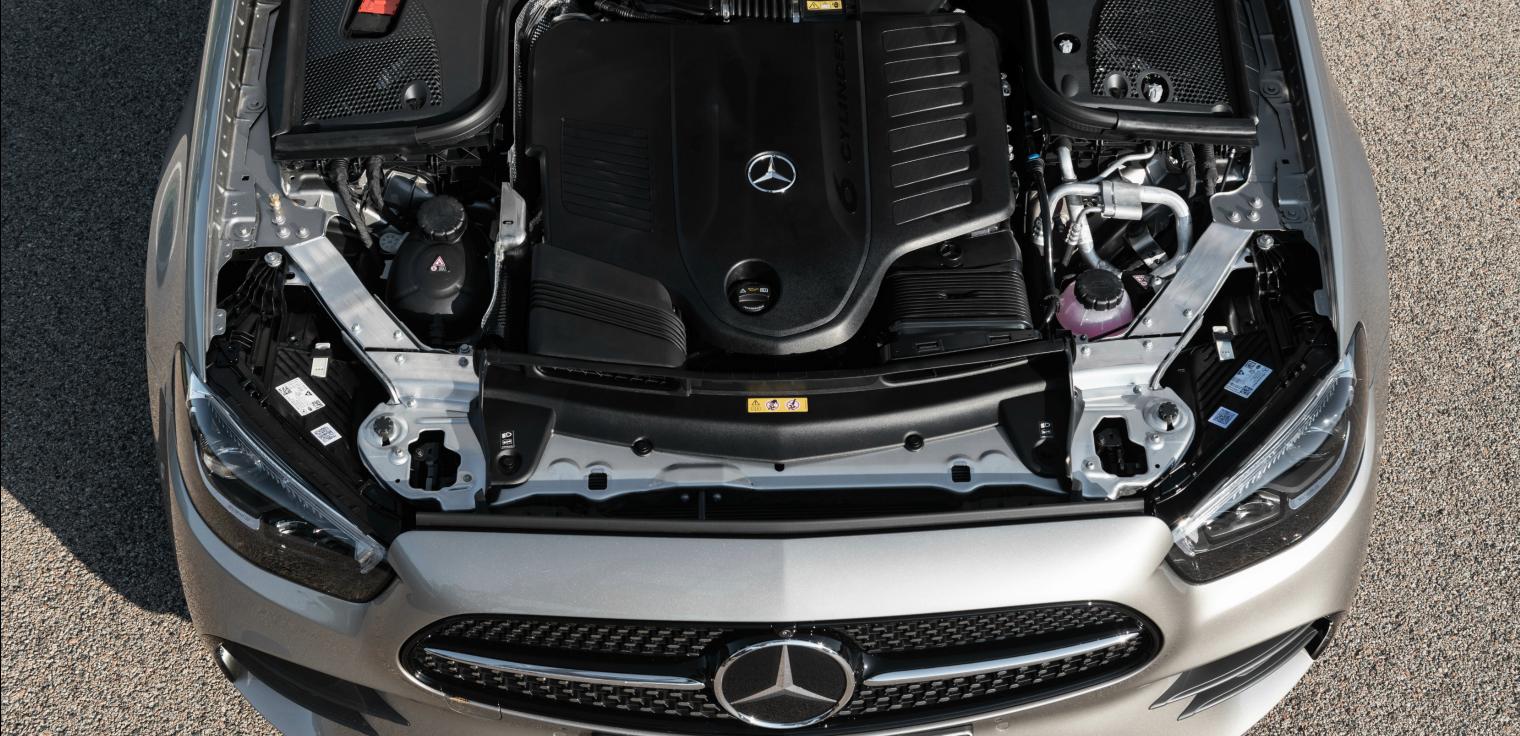 Motore nuova Mercedes Classe E