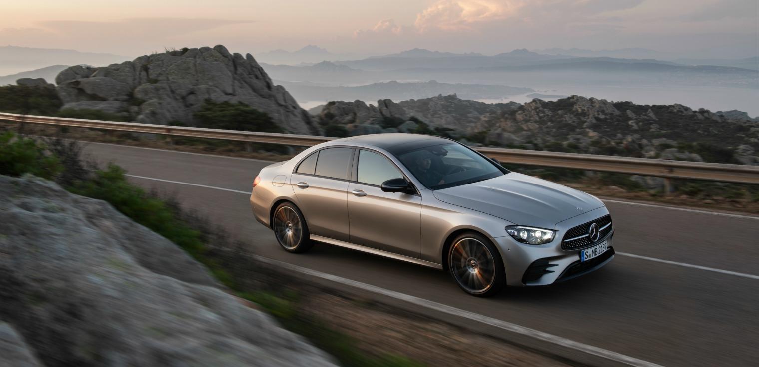Nuova Mercedes Classe E dinamica