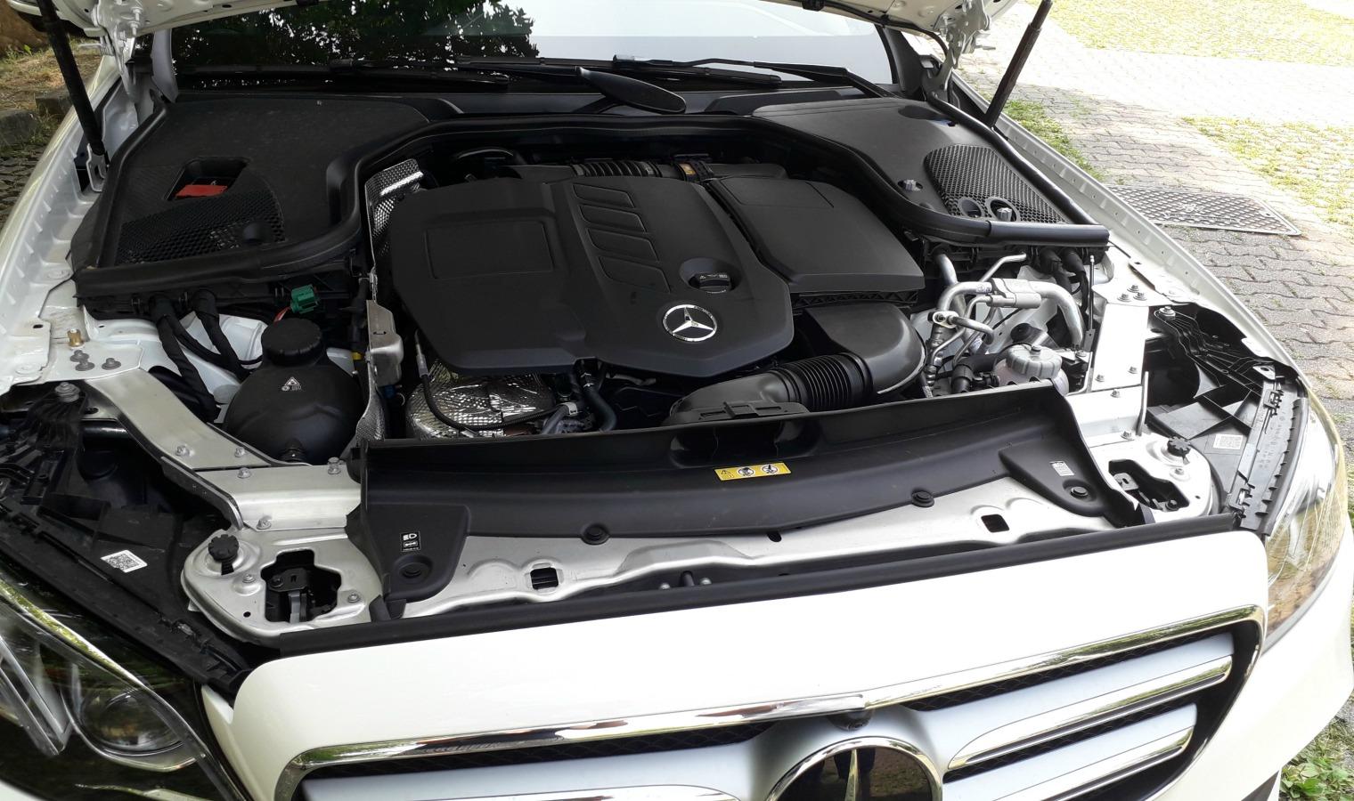 Motore ibrido nuova Mercedes Classe E