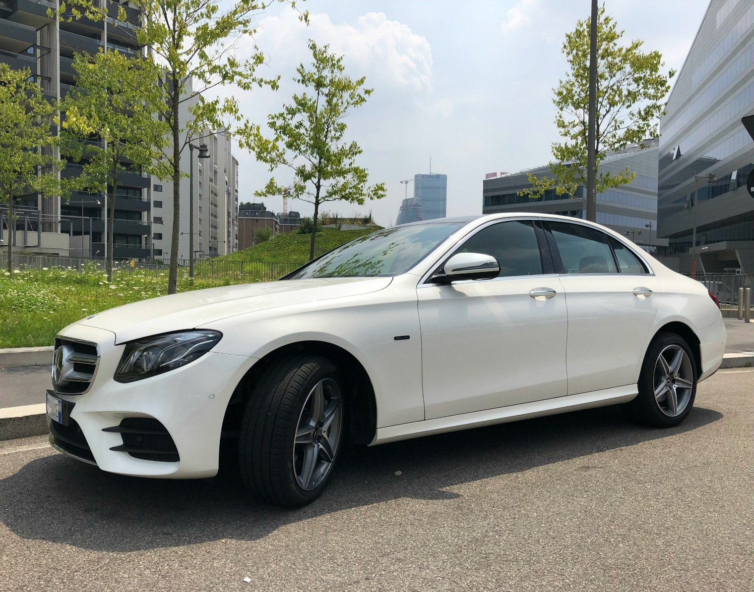 nuova Mercedes Classe E ibrida plug-in