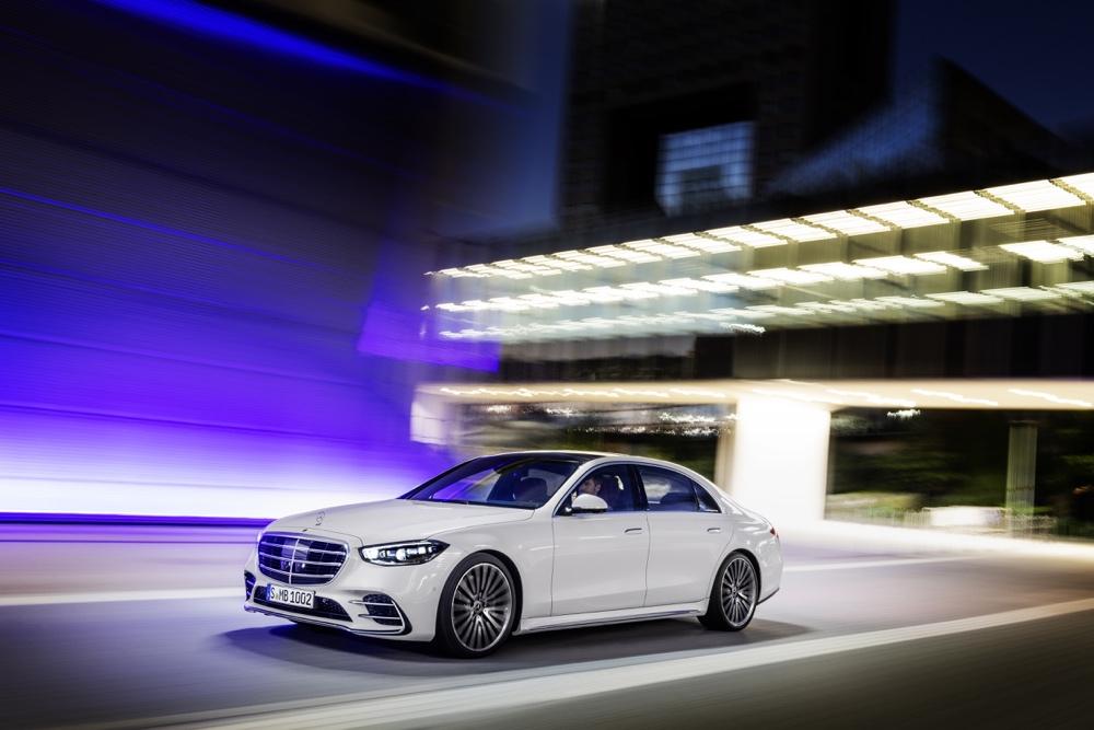 Adas di nuova Mercedes Classe S